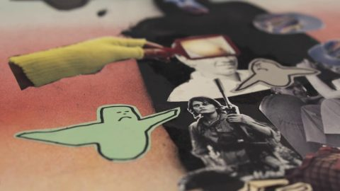 Krooked Collage Boards by Mark Gonzales - Krooked Skateboarding