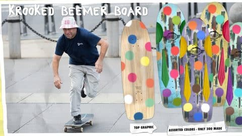 "Krooked ""Pure Evil Beemer"" Skateboard by Mark Gonzales - Krooked Skateboarding"