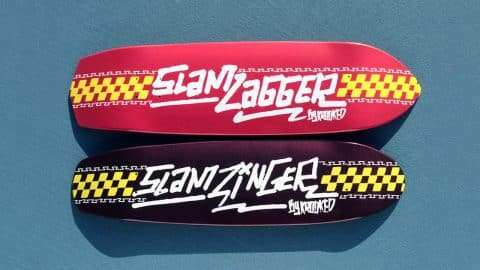 Krooked X Slam City Zip Zinger & Zig Zagger - Krooked Skateboarding