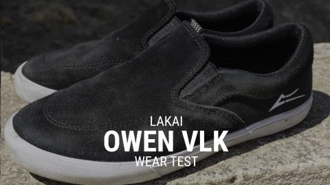 Lakai Owen VLK Skate Shoe Wear Test Review- Tactics | Tactics Boardshop