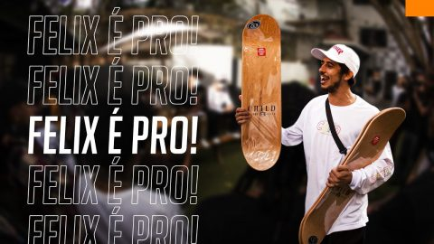LANÇAMENTO PRO MODEL FELIPE FELIX: CASH FOR TRICKS E PREMIERE | CemporcentoSKATE