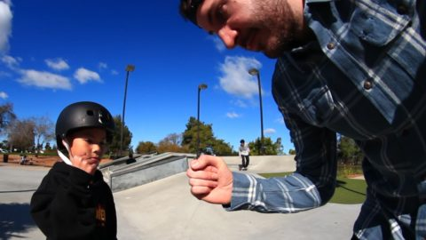 LANCE VS 8 YEAR OLD S K A T E - Braille Skateboarding