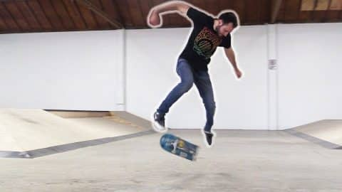 LANDING YOUR FIRST BACKSIDE FLIP! | LANCE LIVE SKATE SUPPORT - Braille Skateboarding