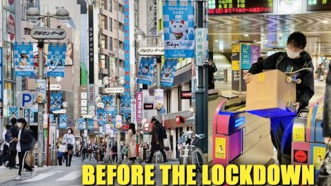 LAST DAY IN TOKYO BEFORE THE LOCKDOWN | Luis Mora