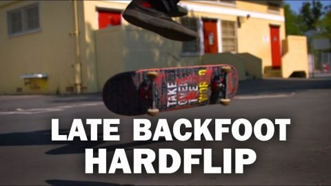 Late Backfoot Hardflip: Ryan Bracken || ShortSided - Brett Novak