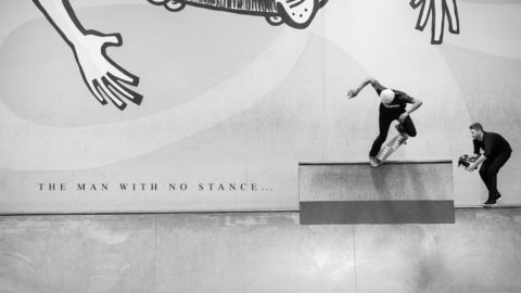 Leandre Sanders - The Man With No Stance  **Image** - The Berrics