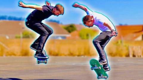 LEARN TO BACKSIDE 180 IN 30 MINUTES CHALLENGE | Braille Skateboarding