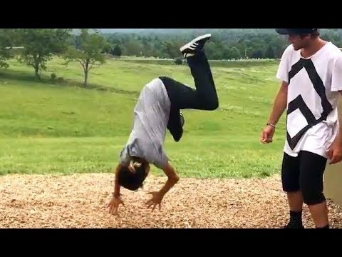 LEARNED TO BACKFLIP IN 1 HOUR - Chris Chann