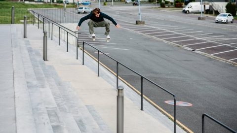 Léo Cholet in Rave Skateboards' 'Family & Friends' | Freeskatemag