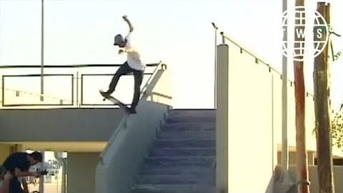 Leo Romero, First Love Part - TransWorld SKATEboarding