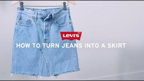 Levi's® DIY: How to Make a Denim Skirt | Levi's®