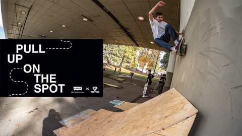 Levi's x Tactics Pull Up On The Spot 2018 - Tactics | Tactics Boardshop