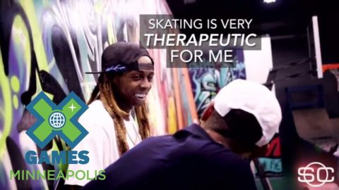 Lil Wayne: Skateboarding is Therapeutic | X Games Minneapolis 2017 - X Games