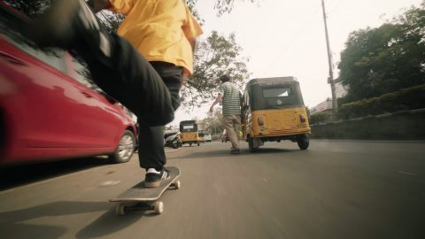 L'INDIAN EXPRESS | Magenta Skateboards