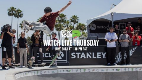 LIVE: Dew Tour Am Park and Street Finals (Day 1) | TransWorld SKATEboarding