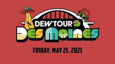 LIVE: Dew Tour Des Moines 2021, Women's Park Skateboarding Semifinals and Men's Street Qualifier Hea | Dew Tour
