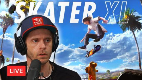 LIVE! Finally, I downloaded Skater XL!! | Chris Roberts