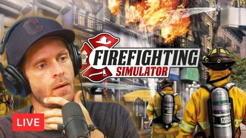 LIVE! Firefighter Crob Reporting For Duty! | Chris Roberts
