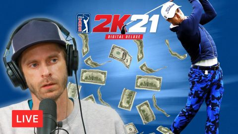 LIVE! Golfing And Chatting | Chris Roberts