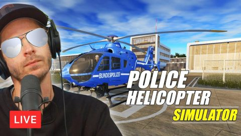LIVE! On Patrol In My Copter! | Chris Roberts
