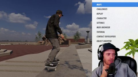 LIVE! Skater XL And Chatting   Chris Roberts