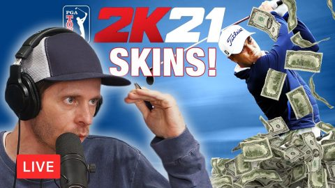 LIVE! Unstoppable Thanks To My Virtual Caddy • PGA 2K21 | Chris Roberts