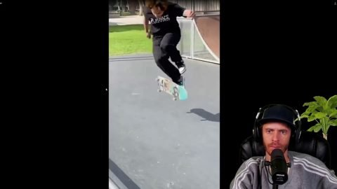 LIVE! Watching Your Skate Clips!   Chris Roberts