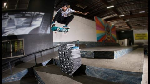 Lizard King Does 25 Tricks Over 25 Shoes | The Berrics