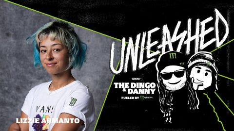 Lizzie Armanto, Women's Skateboarding Pioneer and Olympic Athlete – UNLEASHED Podcast E15 - Monster Energy