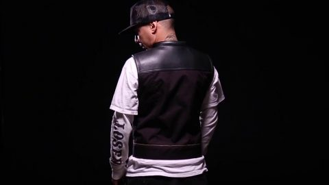 LMC x Espinoza's Leather Hybrid Vest | Loser Machine Company