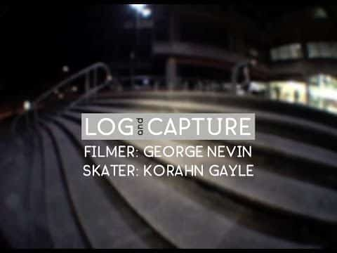 Log & Capture: George Nevin - Korahn Gayle - Sidewalk Mag