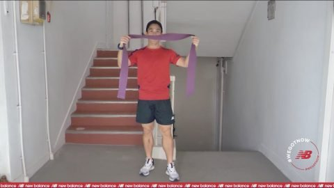 Loh Guo Pei | #StayHome & Workout #WithMe | Episode 4: Resistance Band Workout | New Balance | newbalance