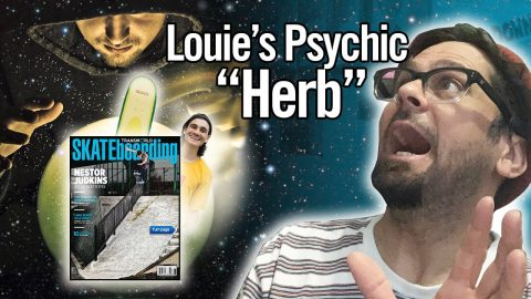 Louie Barletta Consults With A Psychic For Enjoi Decisions!!! | Nine Club Highlights