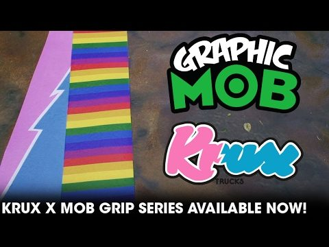 Louie Barletta: Graphic MOB x Krux Trucks | Talkin' MOB - Mob Grip