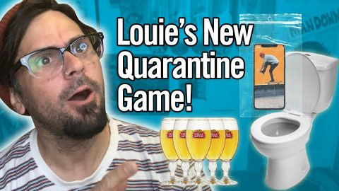 Louie Barletta Invented A Quarantine Game! - Stop And Chat | Nine Club Highlights