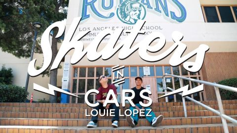 Louie Lopez: Skaters In Cars   World of X Games   X Games