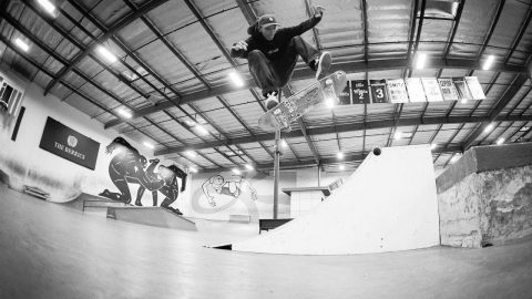 Louie's Quarter - Quarterpipe - The Berrics