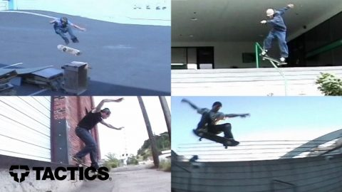 """Low Key"" Throwback Skate Team Movie - Tactics 