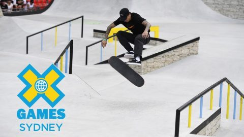 Luan Oliveira qualifies first in Skateboard Street | X Games Sydney 2018 | X Games