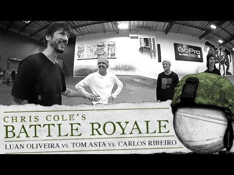 Luan Oliveira & Tom Asta & Carlos Ribeiro - Battle Royale - The Berrics