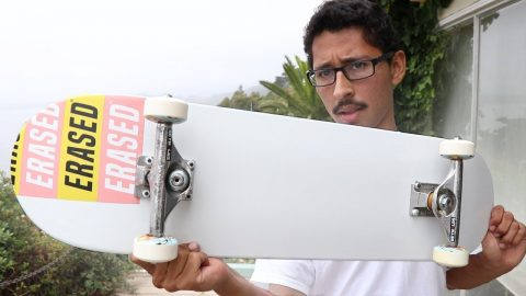 LUIS MORA SKATEBOARD SET UP - Luis Mora