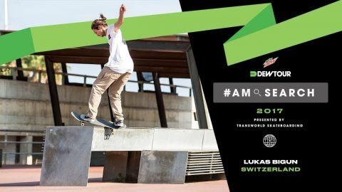 Lukas Bigun Interview | Dew Tour Am Series 2017 Barcelona - Dew Tour