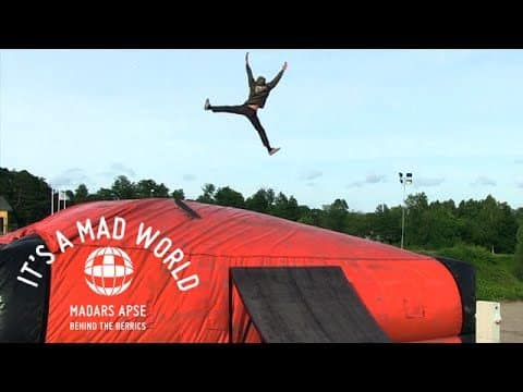 Madars Apse - Behind The Berrics | It's A Mad World - Episode 21 - Line9
