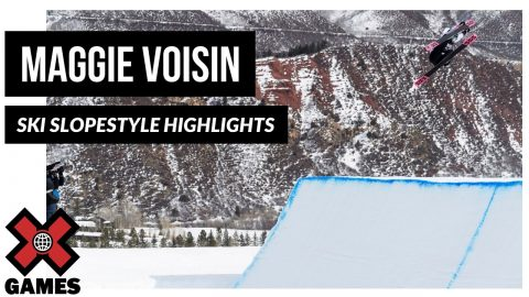 Maggie Voisin HIGHLIGHT REEL | X Games Aspen 2020 | X Games