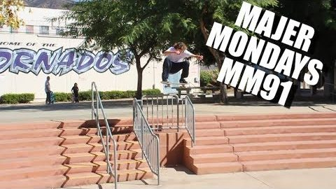 MAJER THINGS California Trip Part1 MM91 - MAJER Crew