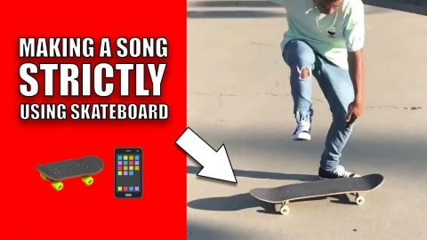 Making A Song Strictly Using Skateboard | Lamont Holt