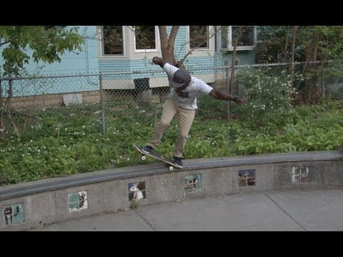 Malik Jones bs 5 0 Tre Flip Out Raw Uncut - E. Clavel