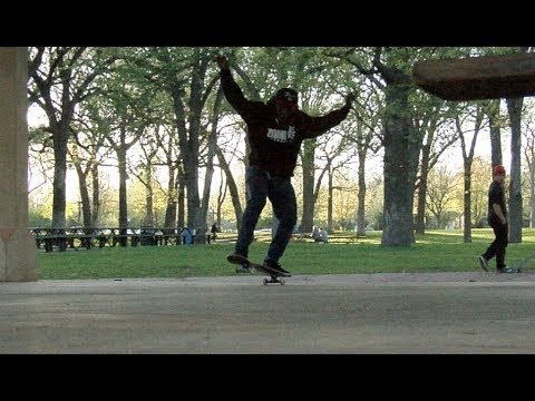 Malik Jones Hidden Falls Kickflip Manual Tre Flip Raw - E. Clavel