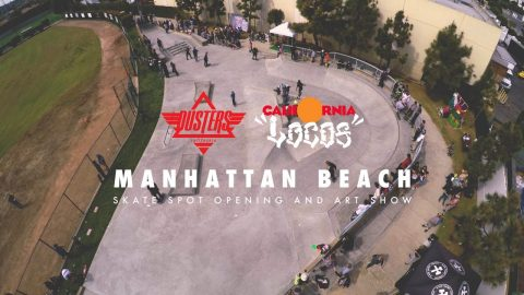Manhattan Beach Skate Spot and California Locos Artshow | Dusters California