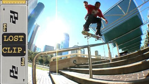 Manny Santiago Lost & Found Skateboarding Clip #170 - Skateintheday